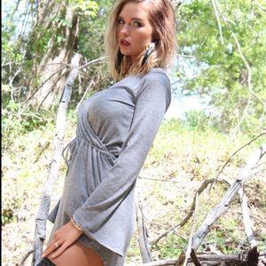 Chaser grey dress